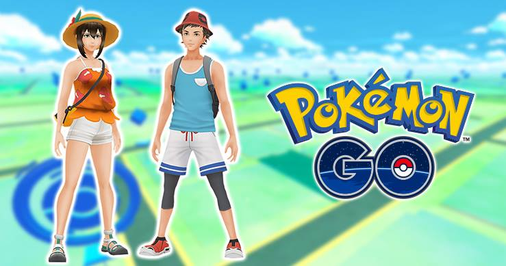 Pokemon GO Gets Summer Clothes Just In Time For Winter