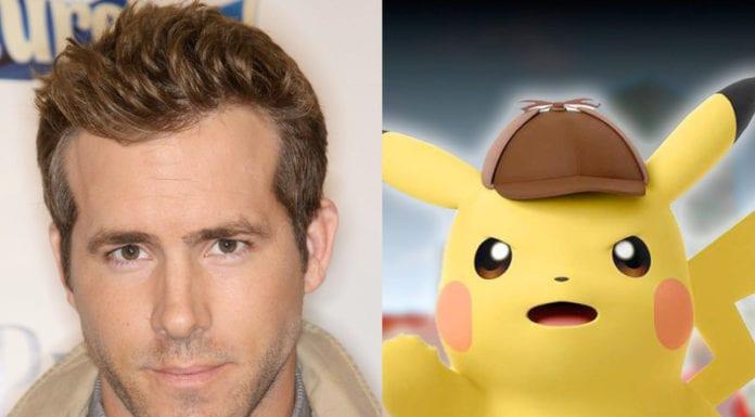 Ryan Reynolds Pikachu Pokemon