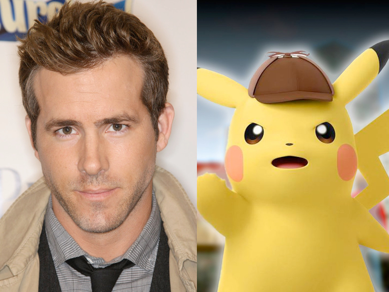 Ryan Reynolds Pikachu Pokemon