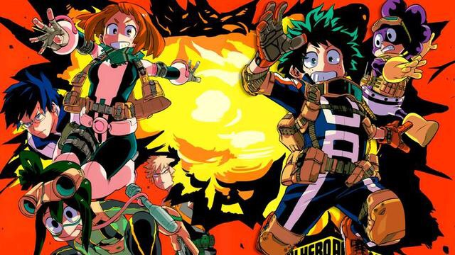 15ad861ef6bc Anime You Need to Watch If You Love Boku No Hero Academia My Hero Academia