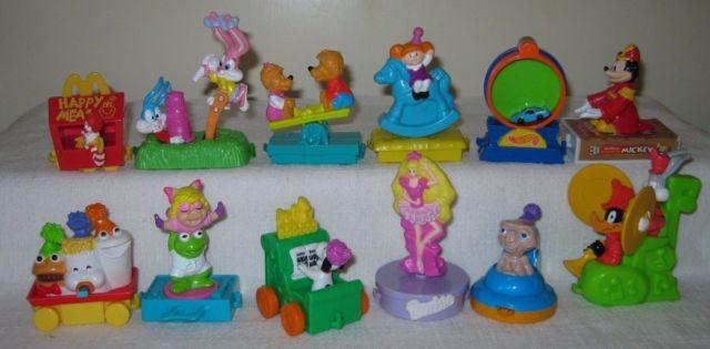 Coolest McDonald's Toys 1993-97 - NERDBOT