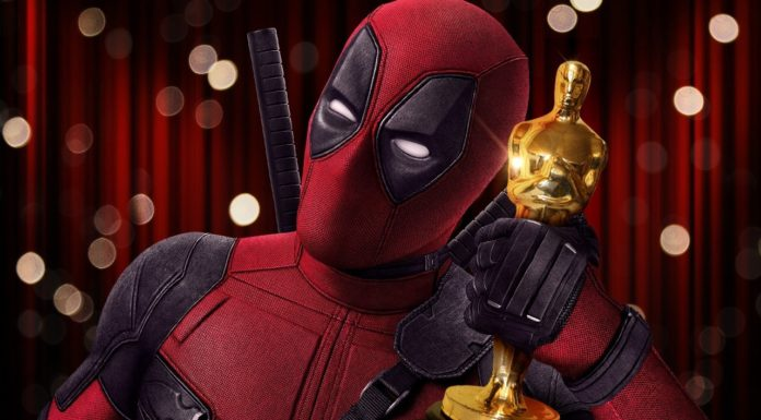 """Alt=""""Deadpool with an Oscar"""""""