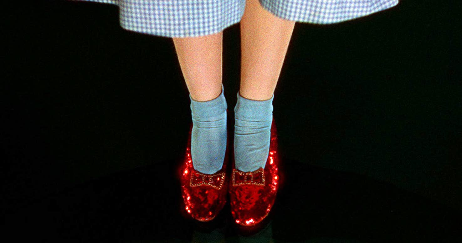 6b46ac7a7e6 Dorothy's Stolen Ruby Slippers Have Been Found, 13 Years Later - NERDBOT