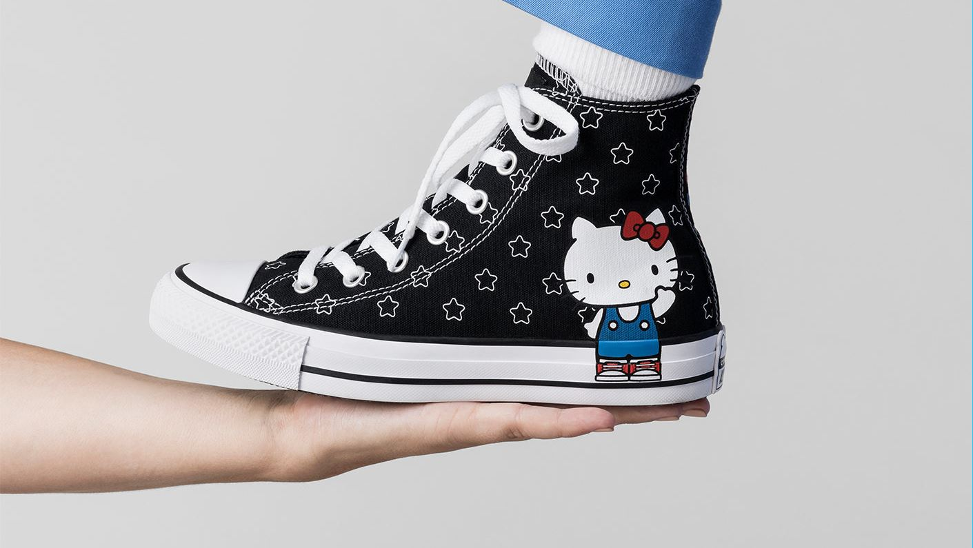 ... Hello Kitty x Converse Releases a Second Set of Designs. Nerd Culture 6063dd60efbb9