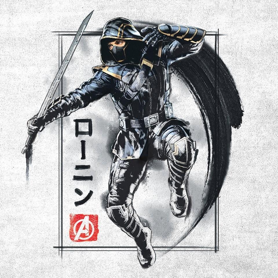 Avengers Endgame Promo Art Ronin Poster 1151692 Nerdbot