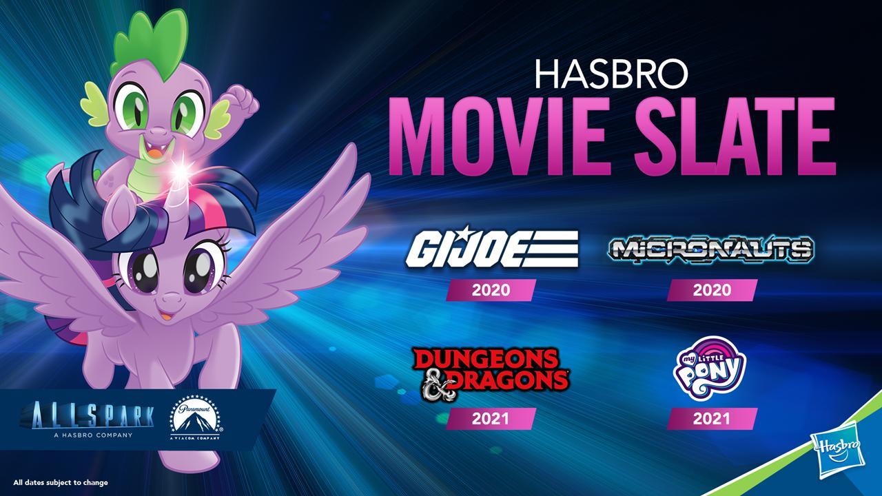 My Little Pony Convention List 2020.Hasbro Announces My Little Pony Movie For 2021 Nerdbot