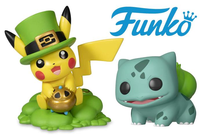 4a13f8c7 New Pikachu Figures and a Bulbasaur Funko Pop Coming this March ...