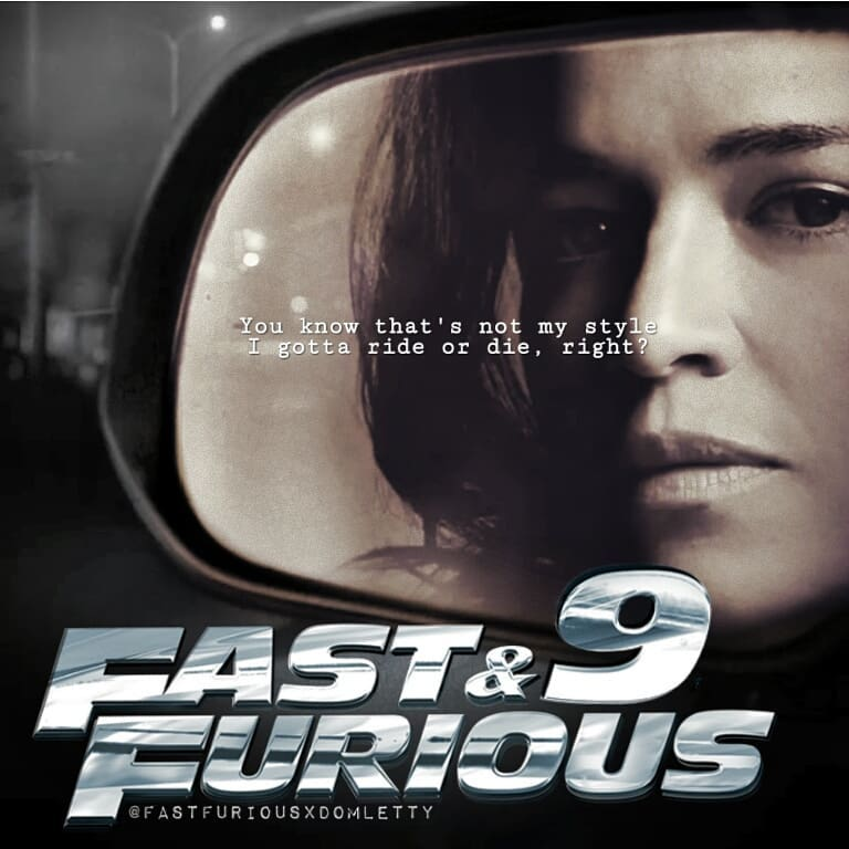 Michelle Rodriguez Returning For Fast Furious 9