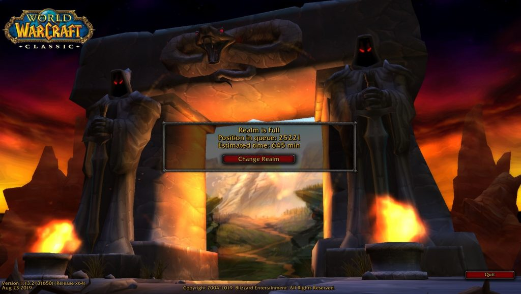 Players Are Waiting In Line For Quests In World Of Warcraft