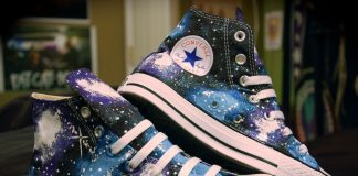 Converse's Galaxy-Themed Shoes