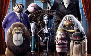 the addams family animated movie poster