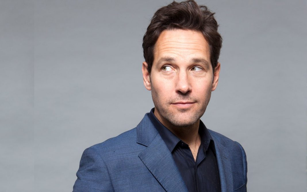 Paul Rudd Looking Off