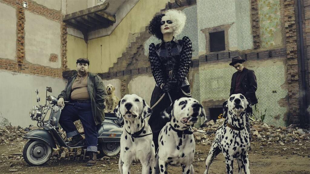 Emma Stone is unrecognizable as a punk rock Cruella deVil in the Promo Poster to Cruella prequel