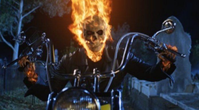 Johnny Blaze is Ghost Rider