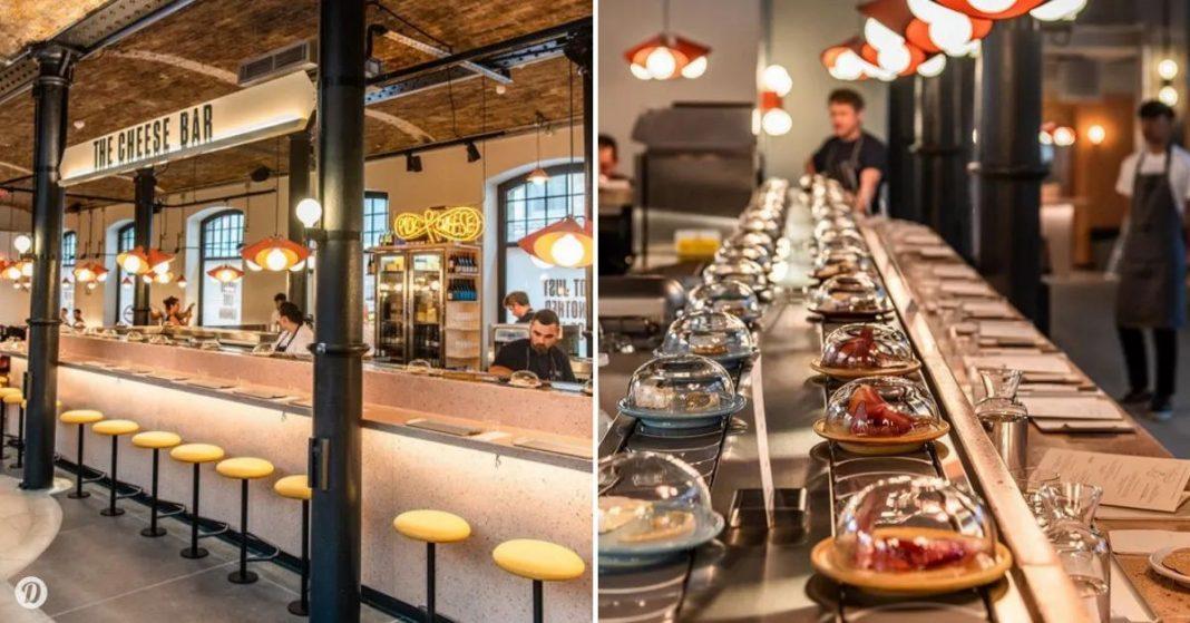 The first Cheese Conveyor Belt Restaurant