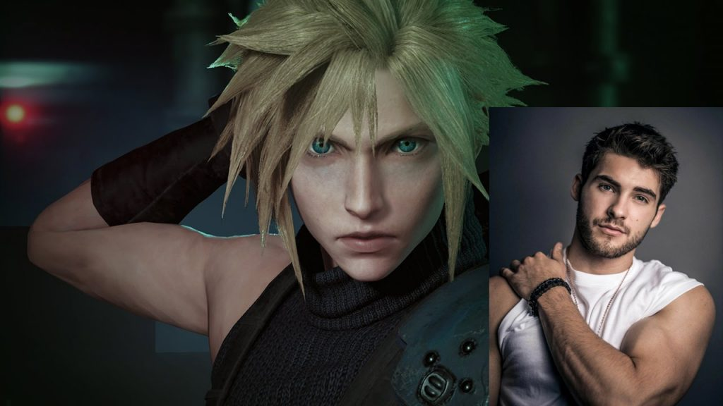 Cody Christian voices Cloud Strife in the English FF7 Remake.