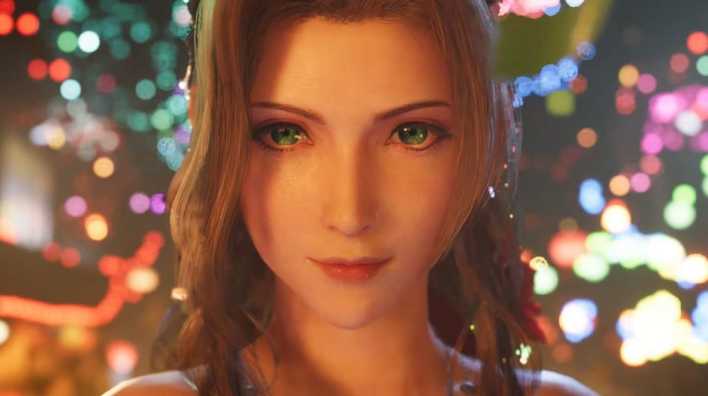 Aeris looks more gorgeous than ever.