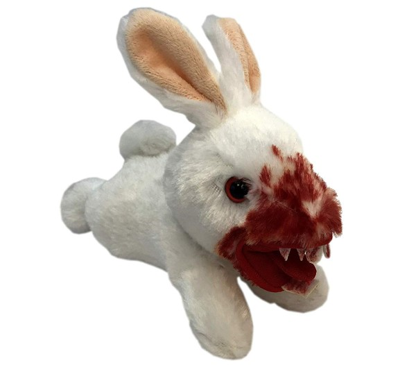 Monty Python Killer Rabbit Plush - San Diego Comic-Con 2019 approximately 5 inches long, but beware.  It may leap.