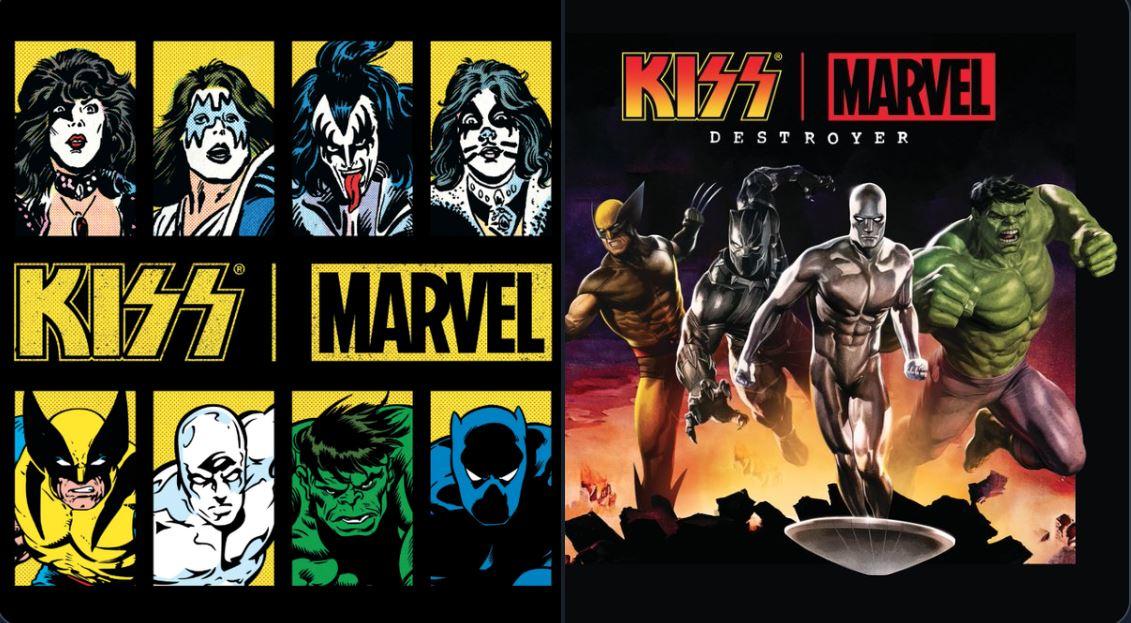 Kiss retorna ao mundo dos Quadrinhos em nova parceria com a Marvel Comics