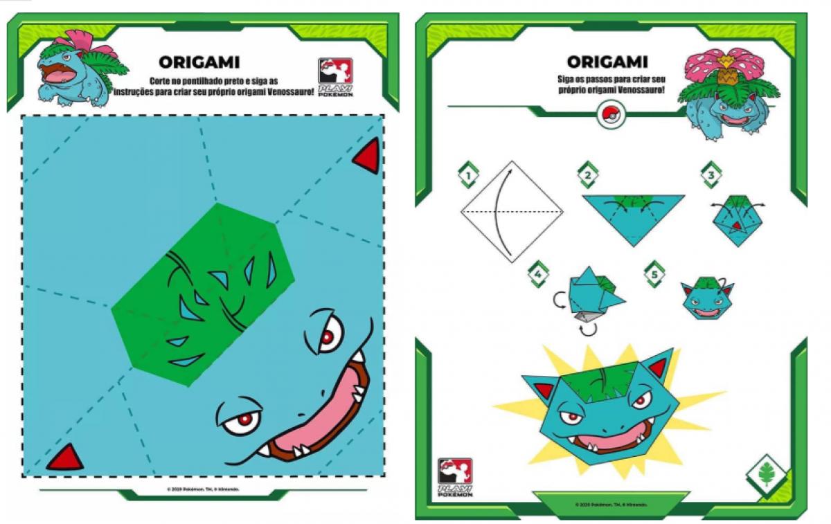 How to make Paper Pokemon: Easy Origami Pokemon Instructions | 757x1200