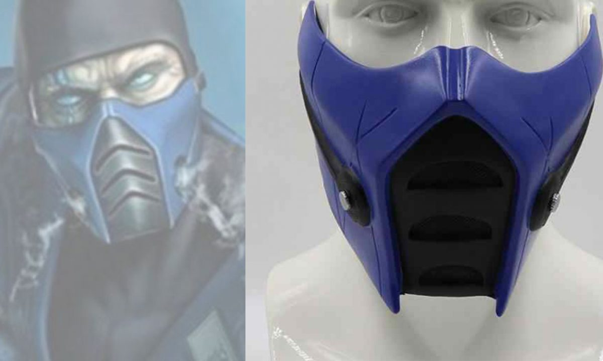 Free 3d Printable Mortal Kombat Sub Zero Protective Mask