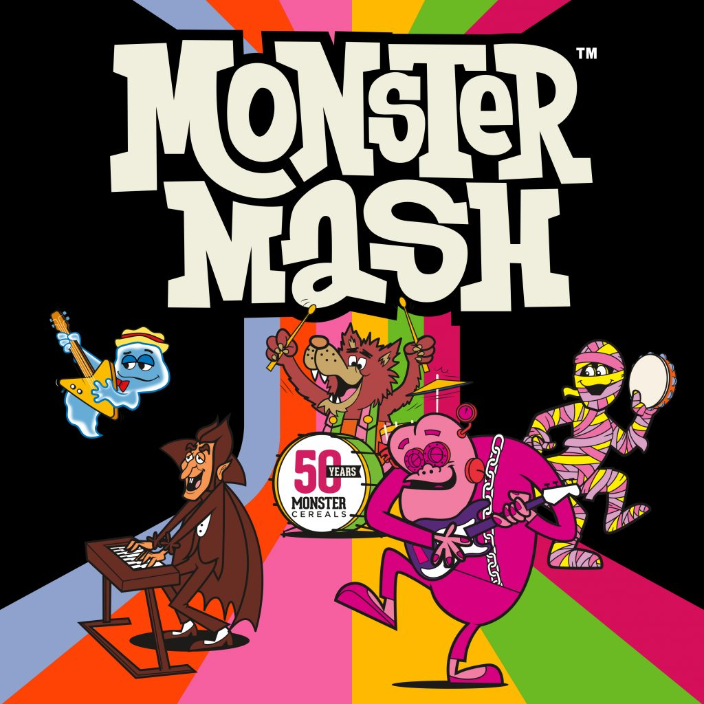 Monster Mash Cereal on Shelves NOW, New Song Hits Spotify